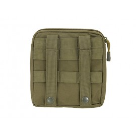 Zippered Pouch MOLLE Olive
