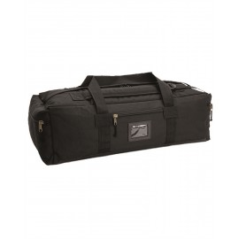 Black Combat Duffle Bag