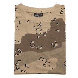 T-Shirt 6 Col. Desert