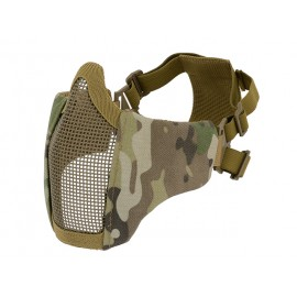 PDW Steel Half Face Mask Multicam
