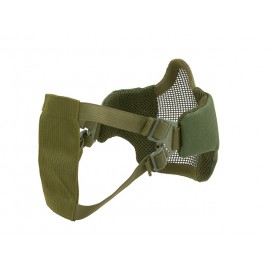 PDW Steel Half Face Mask Olive