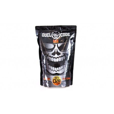 BB's Duel Code Absolute 0,20g 1Kg White