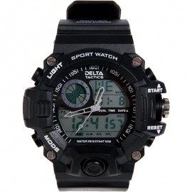 Tactical Watch Analog/Digital Black
