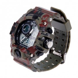 Tactical Watch Analog/Digital Camo