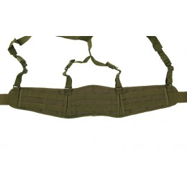 Patrol Belt with Suspenders Olive
