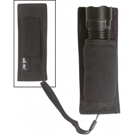 Black Flashlight Holder