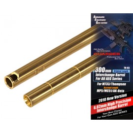 High Precision 6.02 Interchange Barrel 300mm for AEG [Guarder]