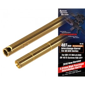 High Precision 6.02 Interchange Barrel 407mm for M4 [Guarder]