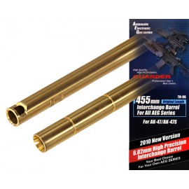 High Precision 6.02 Interchange Barrel 455mm for AK47 [Guarder]