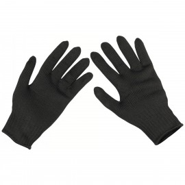 Gloves Security Cut Protection Black