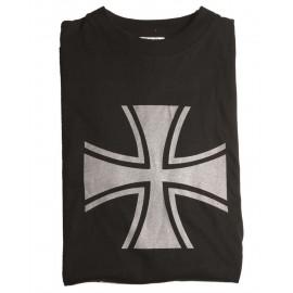 """T-Shirt """"Balkenreuz"""" Preto"""