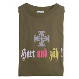 """T-Shirt """"Hart Und Zäh"""" OD"""