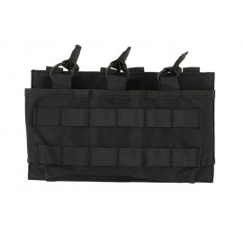Triple Mag 7.62/.308 Open Top Pouch Black