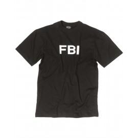 "T-Shirt  ""FBI"" Black"
