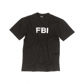 "T-Shirt  ""FBI"" Black"