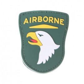 Patch PVC Airborne Green