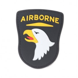 Patch PVC Airborne Black