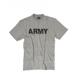 "T-Shirt  ""ARMY"" Grey"
