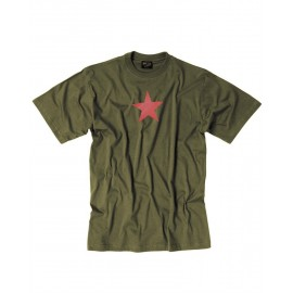 "T-Shirt  ""Red Star"" OD"