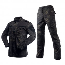 Uniforme ACU Multicam Black Ripstop