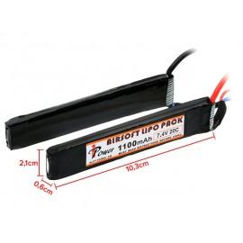 Battery Li-Po 1100mAh 7.4V 20C