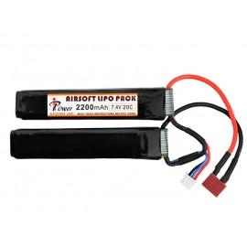 Bateria Li-Po 2200mAh 7.4V 20C Dean