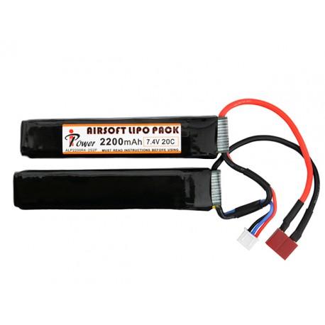 Bateria Li-Po 2200mAh 7.4V 20C