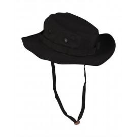 US Black Trilaminate GI Boonie Hat