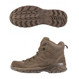 Brown Squad Boots 5 Inch