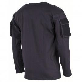 Longsleeve Shirt w/ Pockets Black