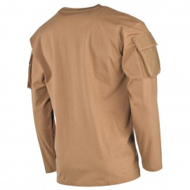 Longsleeve Shirt w/ Pockets Coyote