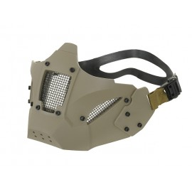 Hard Shell Half Fast Mask Khaki