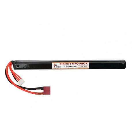 Bateria Li-Po 1200mAh 11.1V 20C Dean p/ AK