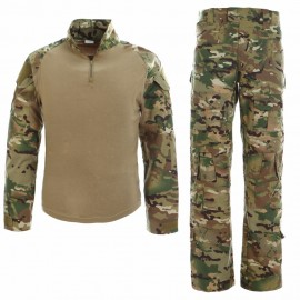 Combat Uniform Multicam w/ Pads