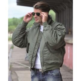 US OD Basic CWU Flight Jacket