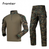 Uniforme Combat Woodland Digital c/ Joelheiras