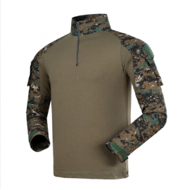 Combat Uniform Digital Woodland w/ Pads