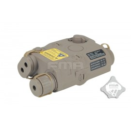 PEQ 15 Battery Case TAN [FMA]