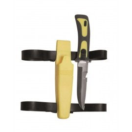 "Yellow Diving Knife ""Frogman"""