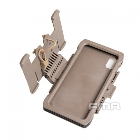 Flip Case MOLLE f/ iPhone Xs Max Coyote
