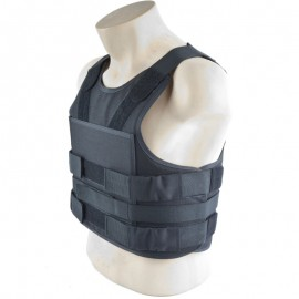 Black Stab Protection Vest [COP]