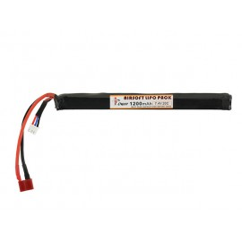 Battery Li-Po 1200mAh 7.4V 20C Dean for AK