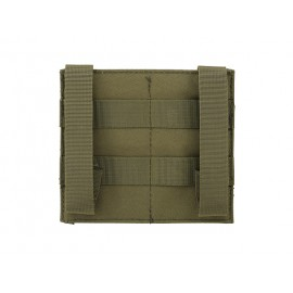Elastic Double M4/M16 Magazine Pouch - Olive