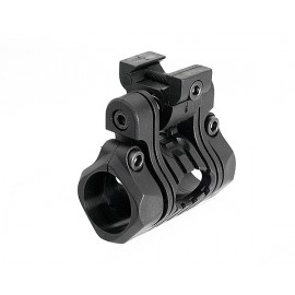 "5 Positions 1"" Flashlight Mount Black [Element]"