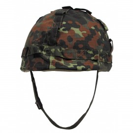US Helmet Flecktarn with Cover