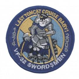"Emblema Bordado ""VF-32 Swordsmen"""