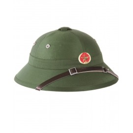 Vietcong Pith Helmet with Insignia