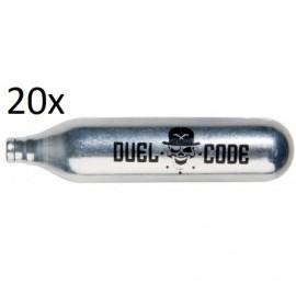 20 Pack 12g Co2 Capsule [Duel Code]