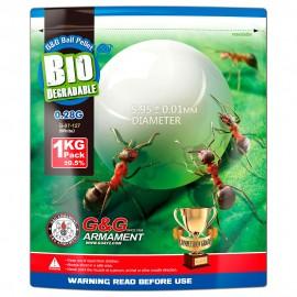 BIO BB's G&G 0,28g 1Kg White