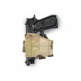 Warrior Universal Pistol Holster Left Handed Multicam